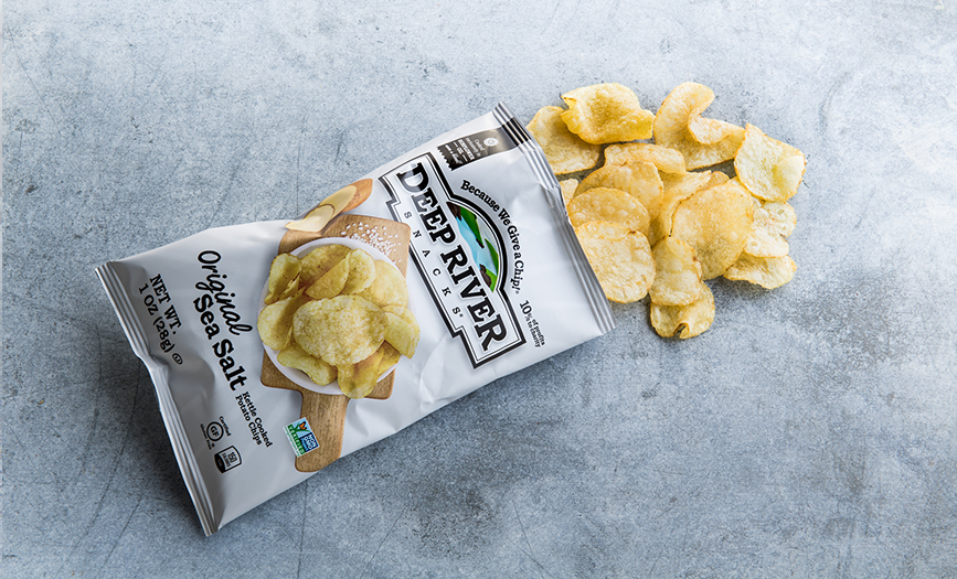 Deep River Chips - Original Sea Salt