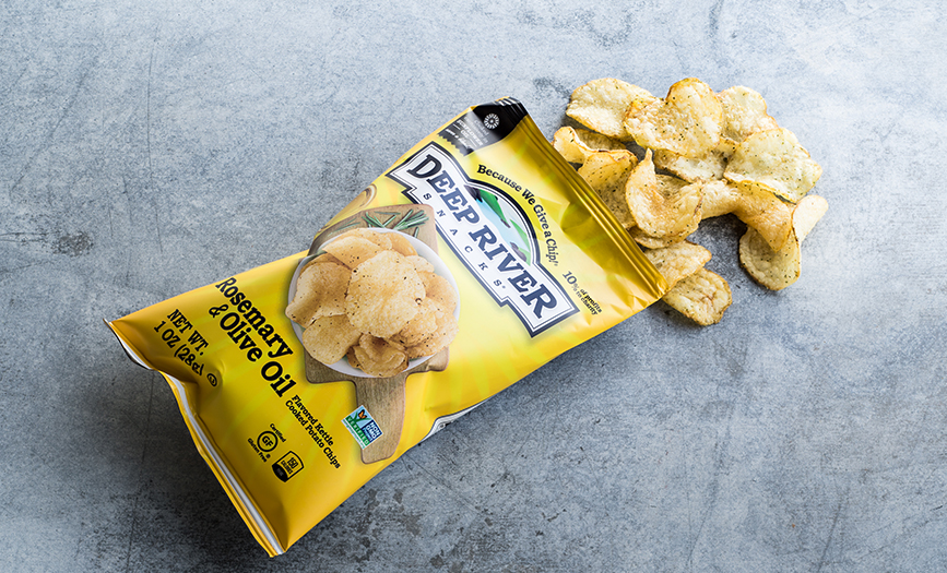 Deep River Chips - Rosemary & Olive Oil